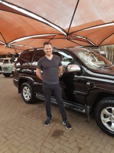 Ross Delivery Toyota Prado